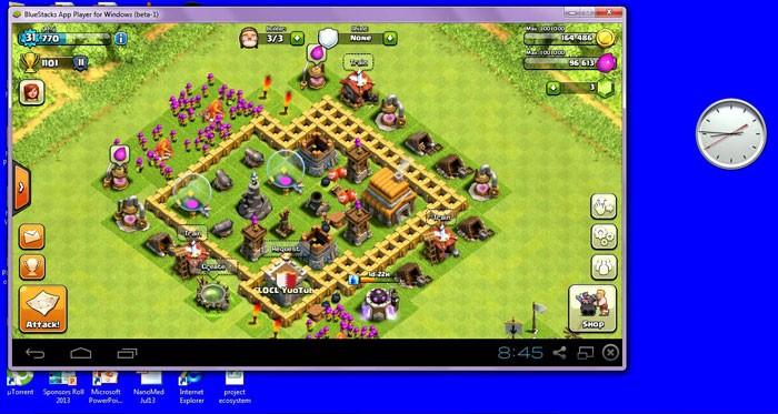 Clash of Clans на компе через эмулятор