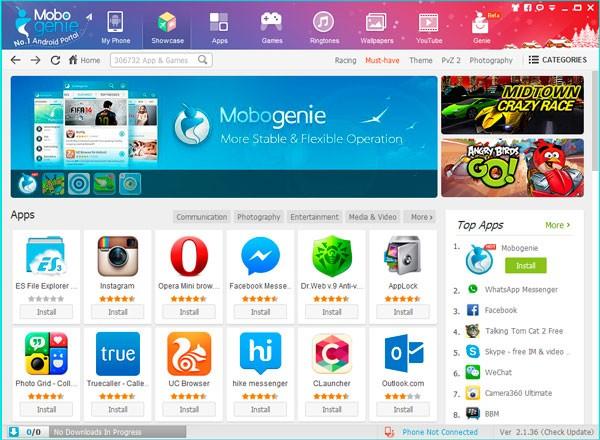 mobogenie скачать на компьютер windows 7 на русском бесплатно