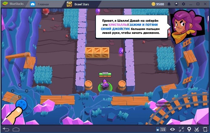 Геймплей Brawl Star на windows 10