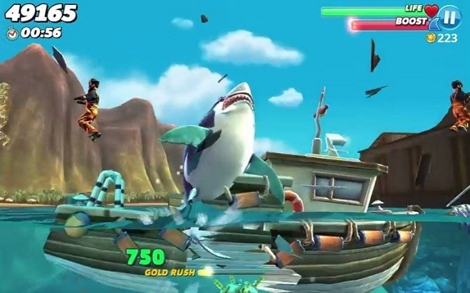 Hungry Shark World на ПК