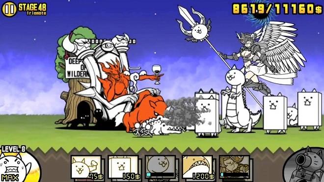 The battle cats на ПК