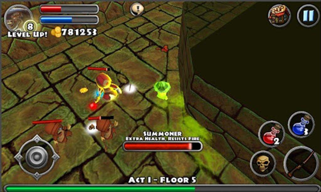 Dungeon Quest для ПК