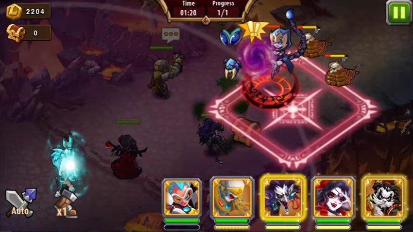 Скачать Magic Rush: Heroes на компьютер