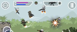 Скачать Mini Militia - Doodle Army 2 на компьютер