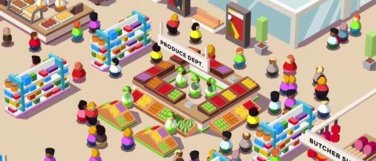Скачать Idle Supermarket Tycoon - Shop на компьютер