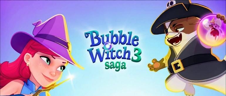 Скачать Bubble Witch 3 Saga на компьютер