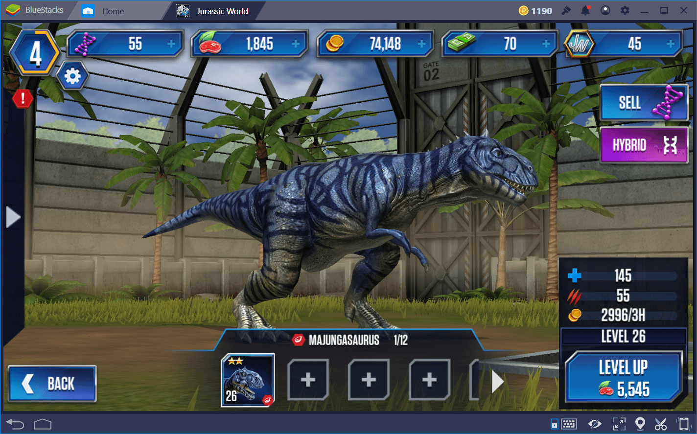 Скачать Jurassic World the Game на компьютер