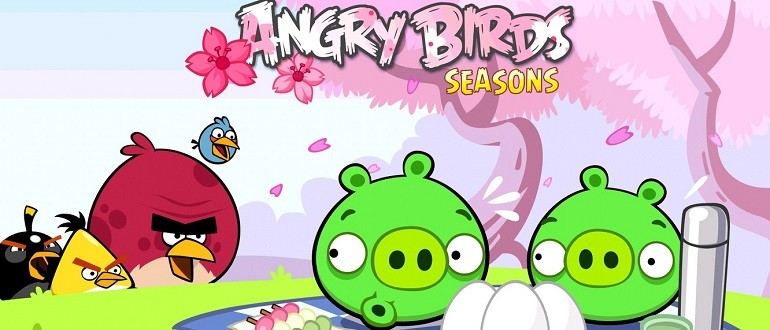 Скачать Angry Birds Seasons на компьютер