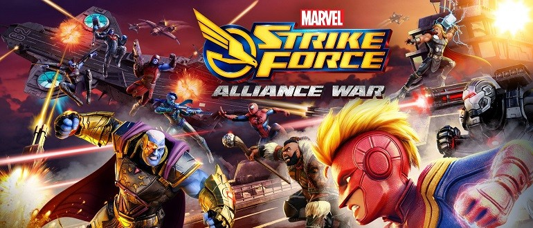 Скачать Marvel Strike Force на компьютер