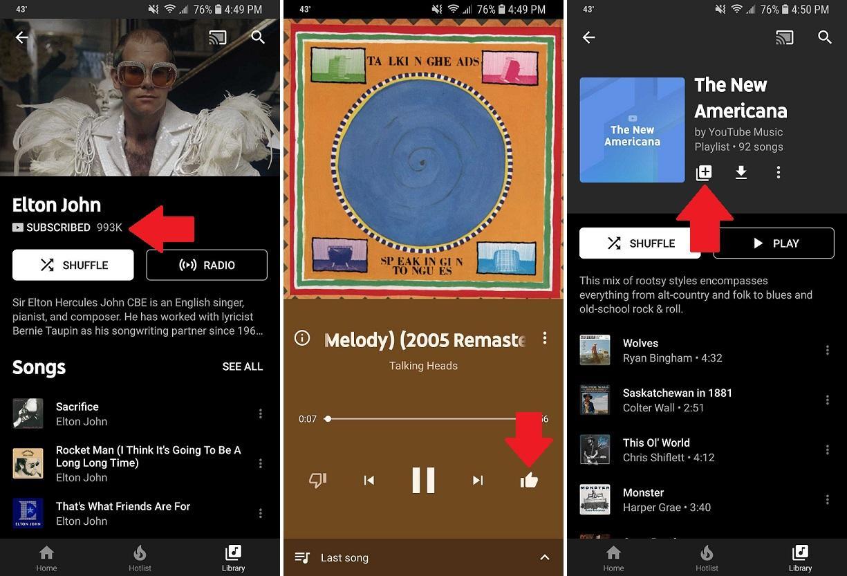Скачать YouTube Music на компьютер для Windows 7, 10