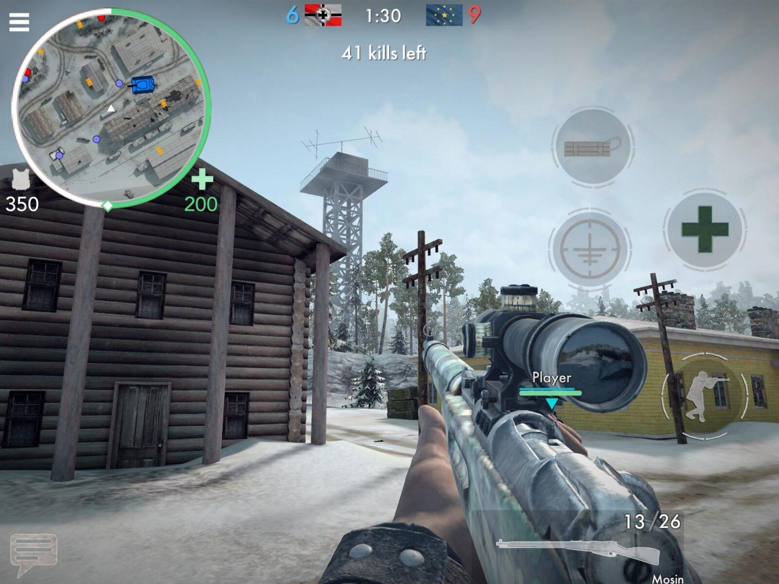 Скачать World War Heroes на компьютер для Windows 7, 10