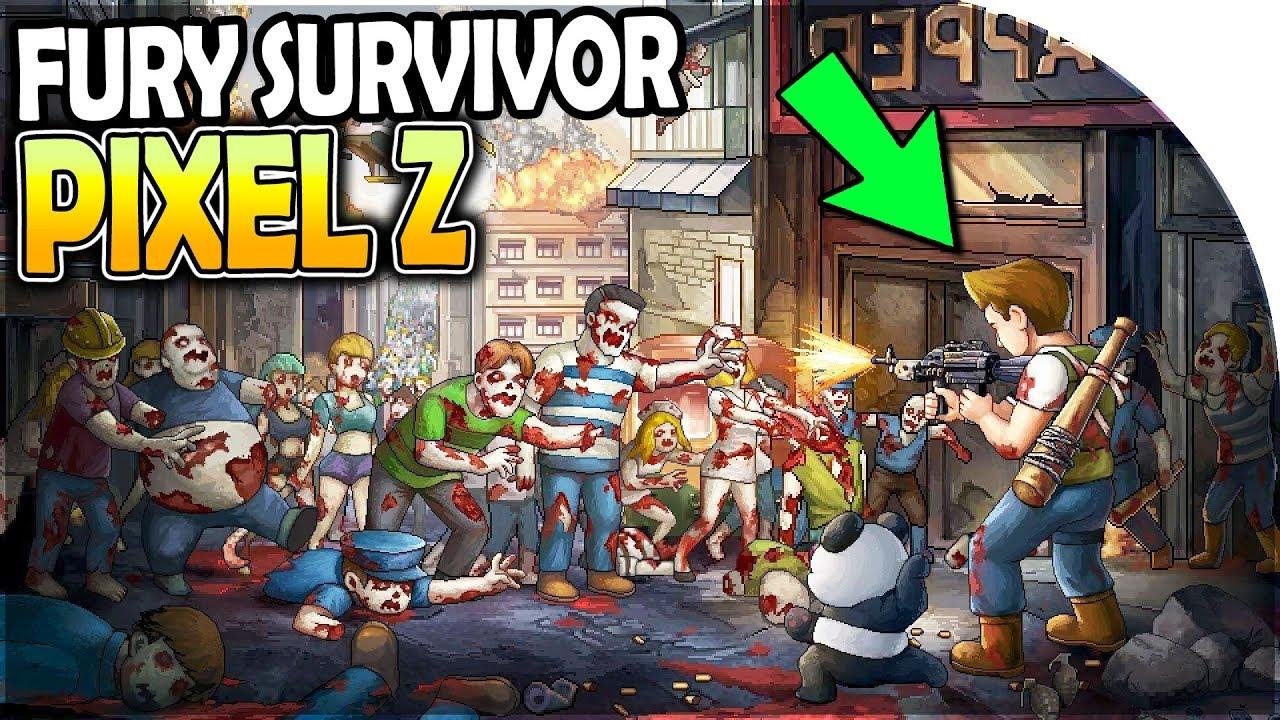Скачать Fury Survivor: Pixel Z на компьютер для Windows 7, 10