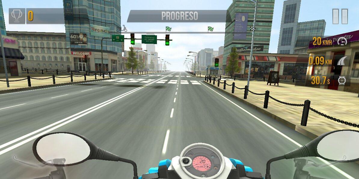 Скачать Traffic Rider на компьютер для Windows 7, 10