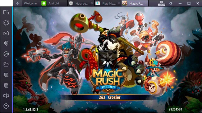 Magic Rush: Heroes для пк